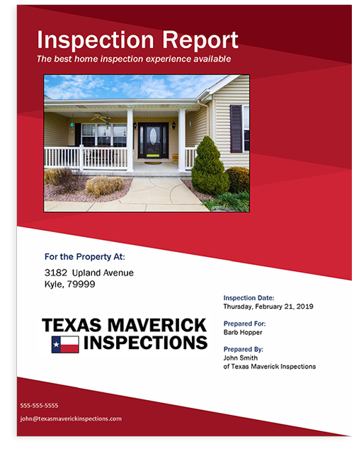 Horizon TREC Compliant Inspection Report Cover