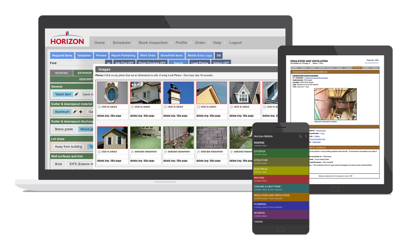 six-month free trial of Horizon home inspection software