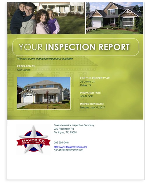 Horizon Classic TREC sample report