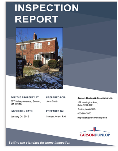 Horizon Commercial Inspection Report Cover