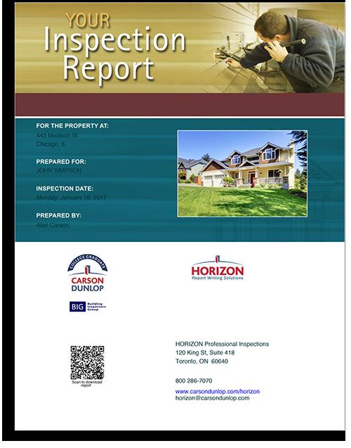 Classic Horizon Inspection Report