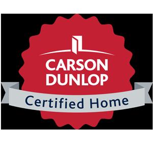 Carson Dunlop Certified Home logo