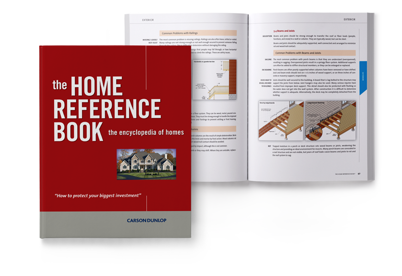 The Home Reference Book, encyclopedia of homes - Carson Dunlop