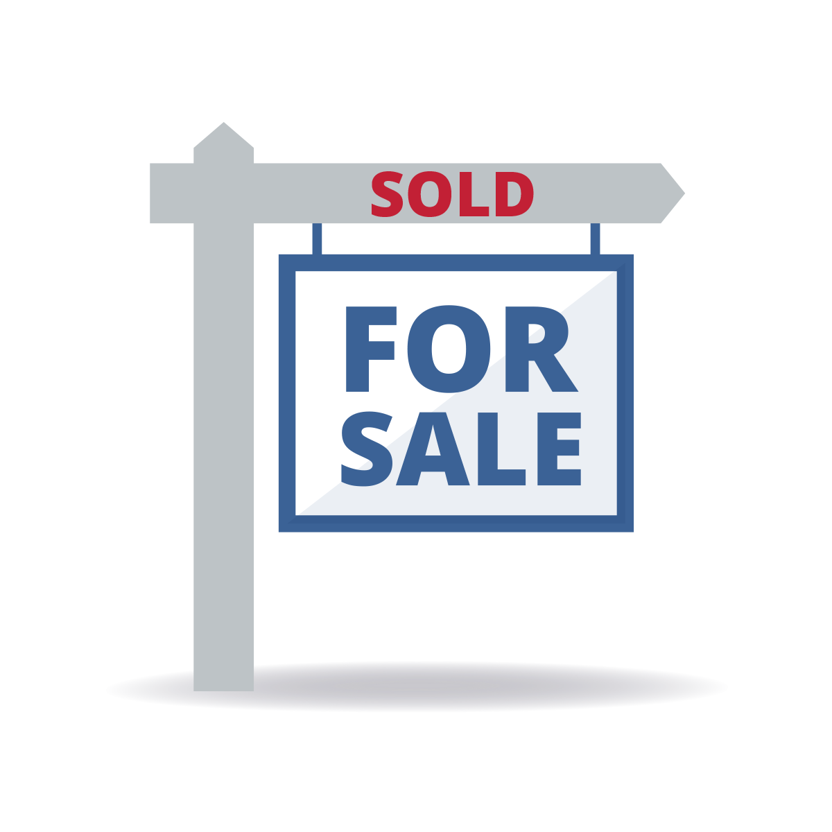 For sale sign illustration