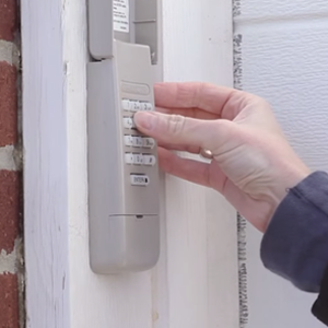 Installing a remote keypad for your garage