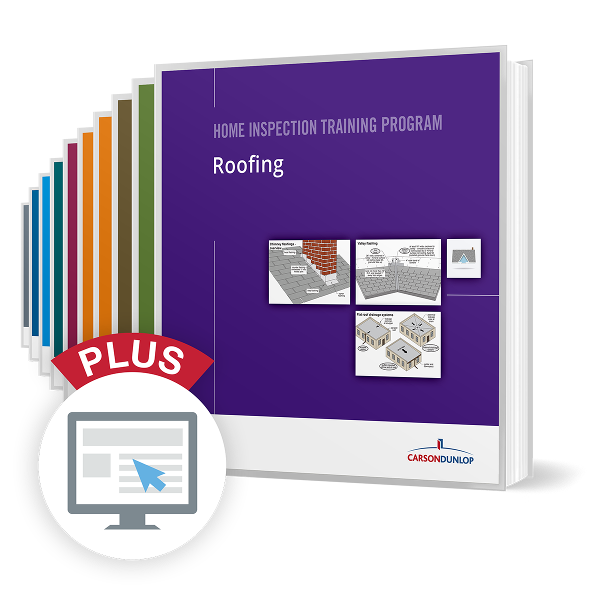 Complete Home Inspection Training Program with computer icon for online component