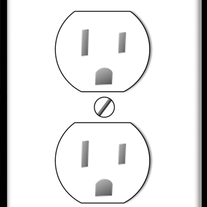 US electric outlet